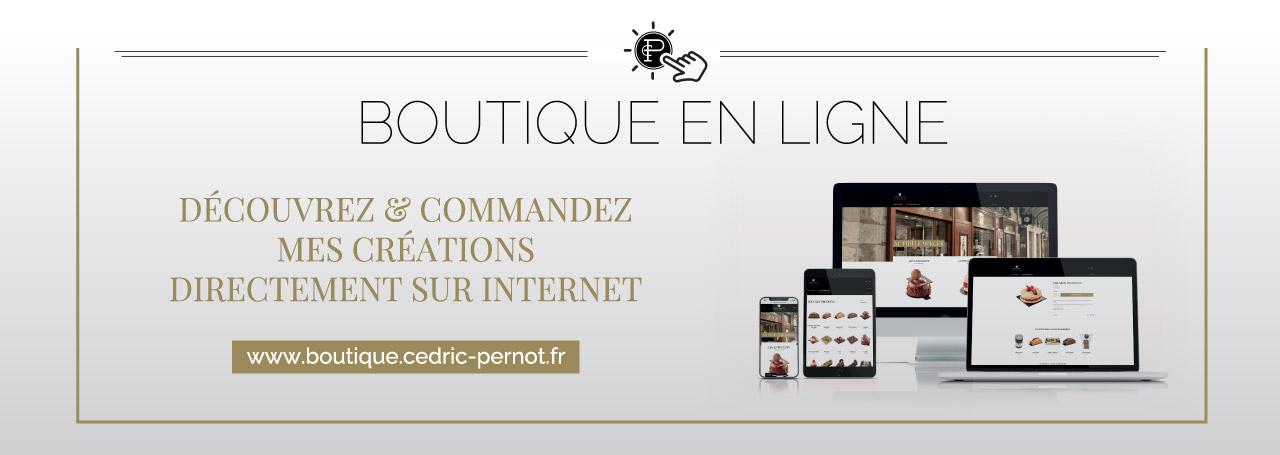 Boutique en ligne Cedric Pernot